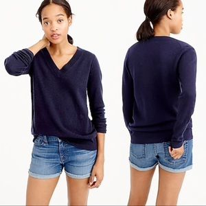 JUST IN💙J. Crew Collection Cashmere VNeck Sweater
